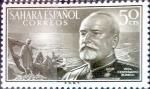 Sellos de Europa - España -  Intercambio 0,25 usd  50 cents. 1955