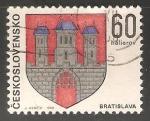 Sellos de Europa - Checoslovaquia -  Escudo de armas de Bratislava