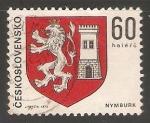 Sellos de Europa - Checoslovaquia -  Escudo de armas de Nymburk