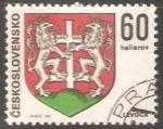 Stamps Czechoslovakia -  Escudo de armas de Levoča