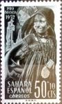 Sellos de Europa - España -  Intercambio 0,25 usd 50 + 10 cents. 1952