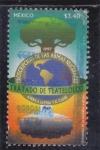 Stamps Mexico -  Proscripción de las armas nucleares