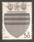 Sellos de Europa - Checoslovaquia -  Escudo de armas de Kunštát