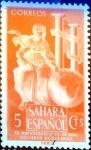 Sellos de Europa - España -  Intercambio 0,20 usd 5 cents. 1953