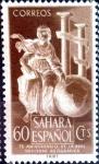 Sellos de Europa - España -  Intercambio 0,30 usd 60 cents. 1953