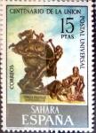 Stamps Spain -  Intercambio 0,55 usd 15,00 ptas. 1974
