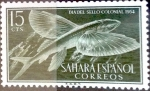 Sellos de Europa - España -  Intercambio cr2f 0,25 usd 15 cents. 1954