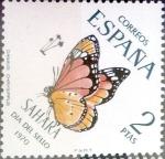 Sellos de Europa - España -  Intercambio cr2f 0,30 usd 2 ptas. 1970