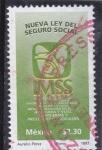 Stamps Mexico -  nueva ley del seguro social