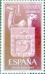 Sellos de Europa - España -  Intercambio m1b 0,25 usd 1 pta. 1965