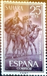 Stamps Spain -  Intercambio 0,20 usd 25 cents. 1963
