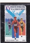 Stamps : America : Mexico :  Marathon Internacional de la ciudad de México