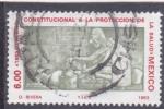 Stamps Mexico -  Derecho constitucional a la proteccion de la salud