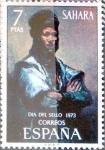 Stamps : Europe : Spain :  Intercambio mxb 0,30 usd 7 ptas. 1973