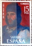 Stamps Spain -  Intercambio 0,45 usd 15 ptas. 1972