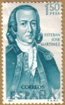 Stamps Spain -  Esteban Jose Martinez