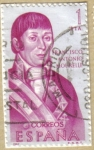 Sellos de Europa - España -  Francisco Antonio Mourelle  - Forjadores de America