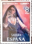 Stamps : Europe : Spain :  Intercambio agm2 0,30 usd 8 ptas. 1972