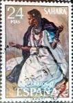 Sellos de Europa - España -  Intercambio 0,55 usd 24 ptas. 1972
