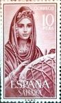 Stamps Spain -  Intercambio 1,40 usd 10 ptas. 1964