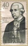Sellos de Europa - España -  J. Francisco de la Bodega - Forjadores de America