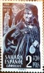 Sellos de Europa - España -  Intercambio 1,50 usd 2 + 0,30 ptas. 1952