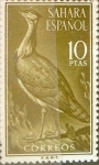 Stamps of the world : Spain :  Intercambio 2,75 usd 10 ptas. 1961