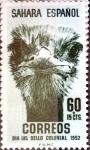 Sellos de Europa - España -  Intercambio 0,40 usd 60 + 15 cents. 1952