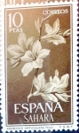 Stamps of the world : Spain :  Intercambio 4,25 usd 10 ptas. 1962