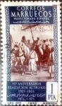 Sellos del Mundo : Europa : España :  Intercambio 0,20 usd 1 ptas. 1955