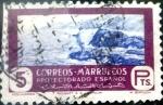 Sellos del Mundo : Europa : España : Intercambio 0,25 usd 5 ptas. 1950