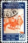 Sellos del Mundo : Europa : España : Intercambio 0,20 usd 90 cents. 1953