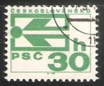 Stamps Czechoslovakia -  Simbolo de codigo Postal
