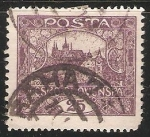 Sellos de Europa - Checoslovaquia -  Castillo de Praga