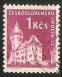 Sellos de Europa - Checoslovaquia -  Castillo Smolenice