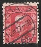 Sellos de Europa - Checoslovaquia -  Tomáš Garrigue Masaryk (1850-1937)