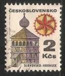 Sellos de Europa - Checoslovaquia -  Hronsek