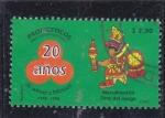 Stamps Mexico -  Macuilxochitl Dios del Juego