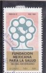 Sellos de America - México -  Fundación mexicana para la salud