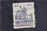Stamps Mexico -  PUEBLA -arquitectura colonial