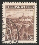 Stamps Czechoslovakia -  Castillo de cesky raj