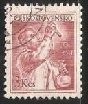 Stamps Czechoslovakia -  Quimico
