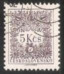 Sellos de Europa - Checoslovaquia -  Numero 5