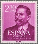 Sellos de Europa - España -  ESPAÑA 1961 1352 Sello Nuevo Juan Vázquez de Mella 2,30pts