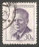 Sellos de Europa - Checoslovaquia -  Antonín Novotný (1904-1975)