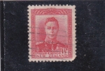 Stamps New Zealand -   Rey George VI