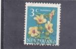 Sellos del Mundo : Oceania : Nueva_Zelanda : flores-