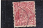 Sellos de Oceania - Australia -  George V