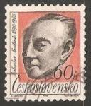 Sellos de Europa - Checoslovaquia -  Bohuslav Martinů (1890-1959)