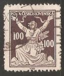 Stamps Czechoslovakia -  Romper las cadenas para la Libertad